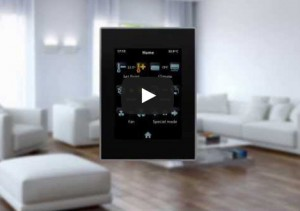 Video Zennio Z41 Touch Panel